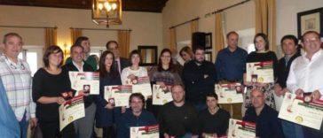 Entrega de los diplomas y medallas a las bodegas de la Ribeira Sacra premiadas en el 23º Concurso Internacional de Vinos de Montaña 1