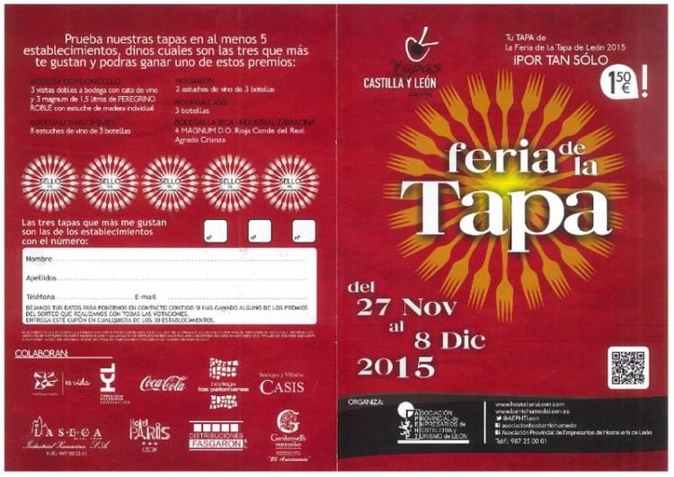 Feria de la Tapa de León 2015 1