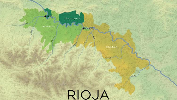 3 Zonas y 7 valles engloban todos los vinos de Rioja 1