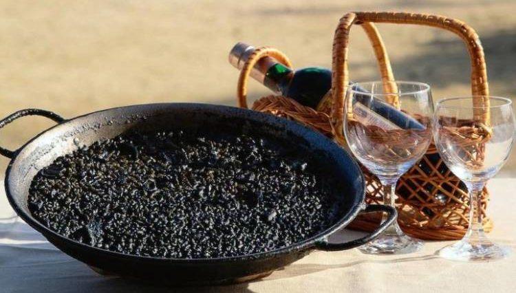 Arroz negro alicantino 1