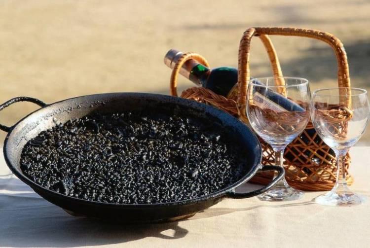 arroz negro alicantino