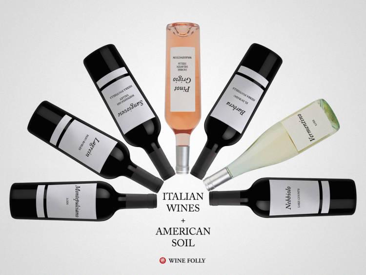 Los vinos italianos se adaptan a los USA 1