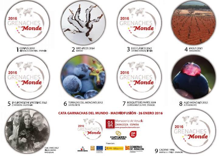 Ya conocemos a los sumilleres y panel de cata de la presentación de 'Garnachas del Mundo' en Enofusión 2016 2