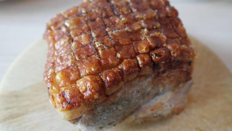 Cómo hacer cerdo asado en casa con costra crujiente 2