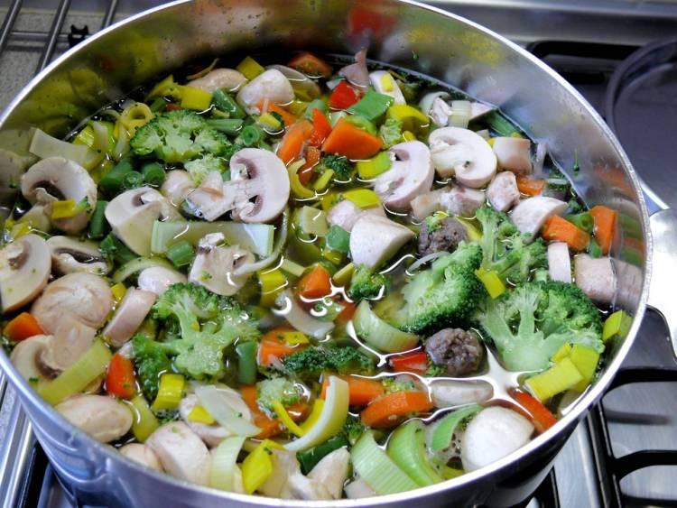 Sopa de verduras 1