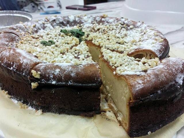 Tarta de queso con turrón blando 1