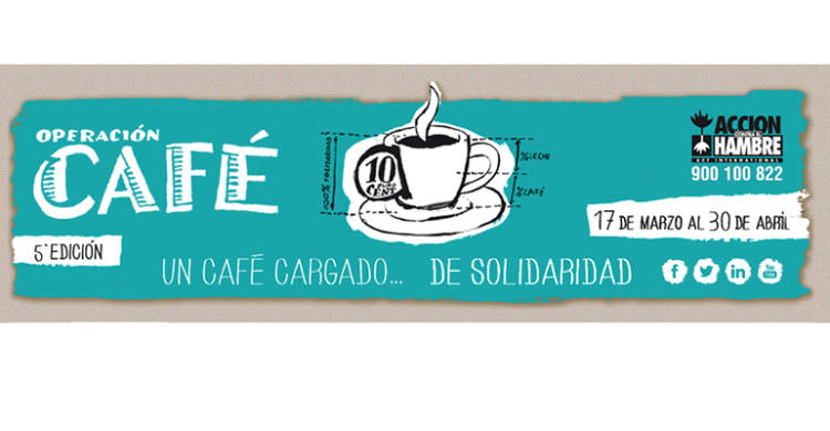 Abierto el plazo de inscripción para la nueva edición de la Operación Café contra la desnutrición 1
