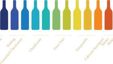 Bodega diseña etiquetas sensibles a la temperatura para beber sus diferentes vinos a la temperatura adecuada 1