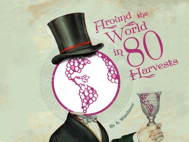 'La vuelta al mundo en 80 cosechas', será el libro que recoja el viaje de 2 años a 80 cosechas en 42 países 1