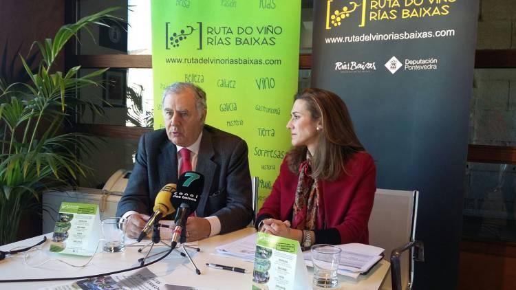 Presentadas las actividades enoturísticas del 20 aniversario de la Ruta do Viño Rías Baixas 1