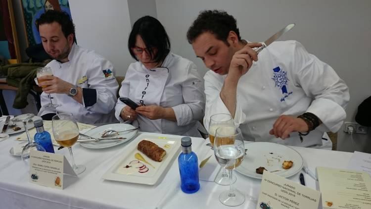 Resultados del IV Concurso Nacional de Torrijas celebrado esta tarde en León 1