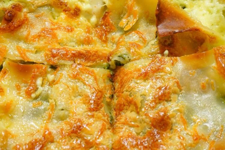 Brócoli festoneado o gratinado a dos quesos 2