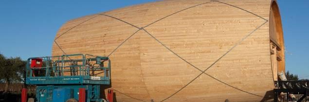Se construye el barril de vino más grande del mundo para 300.000 litros de vino 1