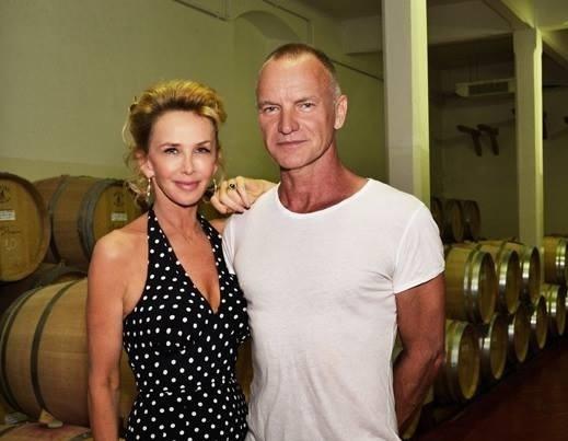 Un vino tinto producido en la Toscana por Sting incluido entre los 101 mejores vinos de Italia. 1