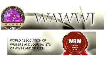Los 100 mejores vinos del año para la WAWWJ, World Association of Wine Writers and Journalists 2
