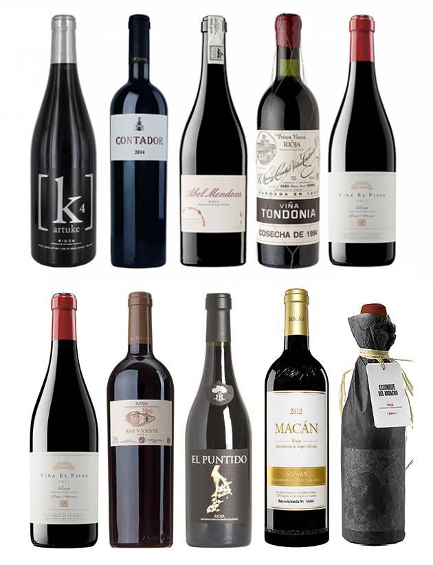10 TOP Wines, Best Rioja para Sarah Jane Evans y Tim Atkin 1