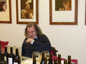 Luis Gutiérrez cata los vinos de la Ribeira Sacra 1