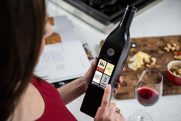 Primera botella del mundo inteligente que mantiene fresco el vino 30 días 1