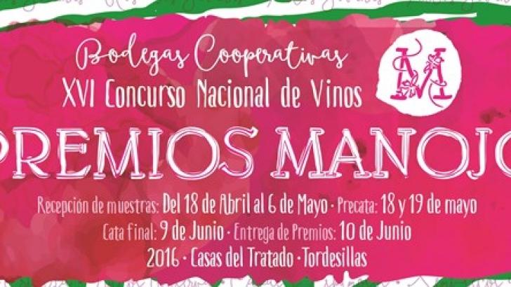 Abierto el plazo de inscripción para el XVI Concurso Nacional de Vinos Premios Manojo 1