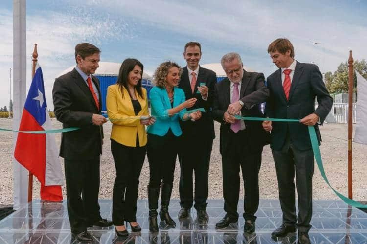 Bodega chilena abre la primera planta de biogas para el tratamiento de los residuos de la cosecha 1