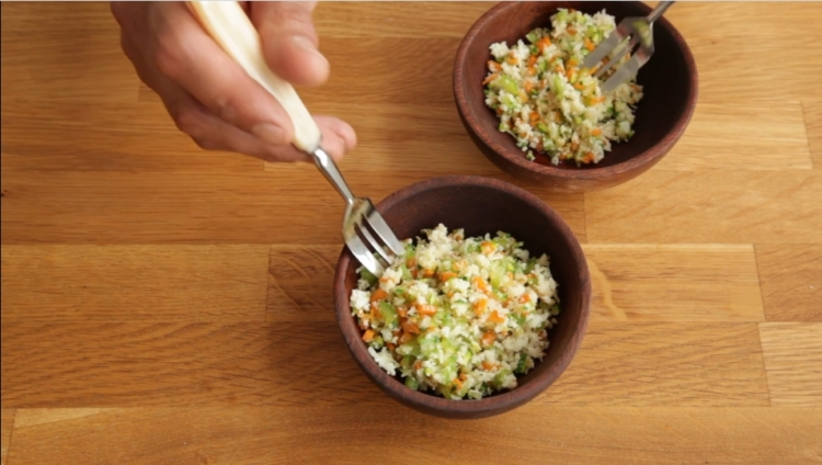 Cous-cous de coliflor con verduras 1
