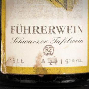 Descubierta una colección de vinos de la época Nazi en una bodega secreta 1