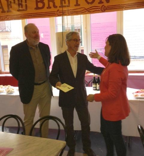 Entrega del premio literario Bodegas Olarra – Café Bretón 2