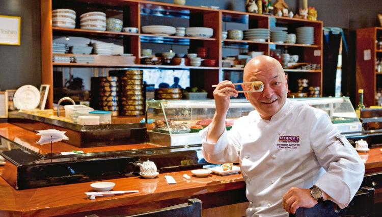 Fallece a las 63 años el reconocido chef japonés Toshiro Konishi 1