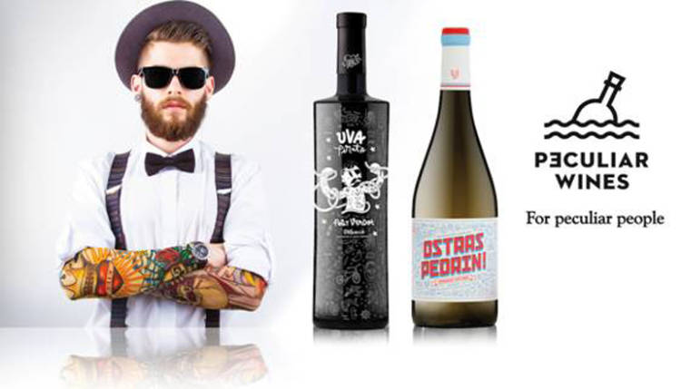 La bodega Vicente Gandía lanza 'Peculiar Wines', para gente peculiar 1