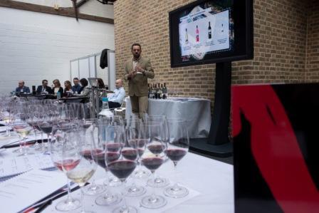 La D.O. Navarra participa en la 'Wines From Spain Trade Fair 2016' en Londres con once bodegas que se presentaban en una clase magistral y cata de vinos 1