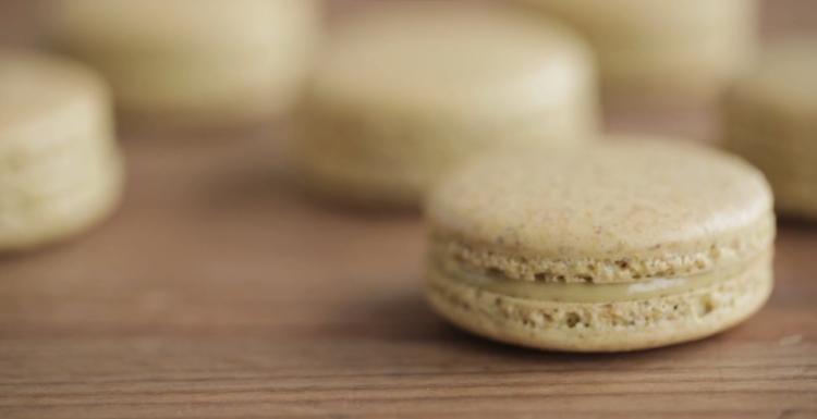 Macarons de pistacho 1