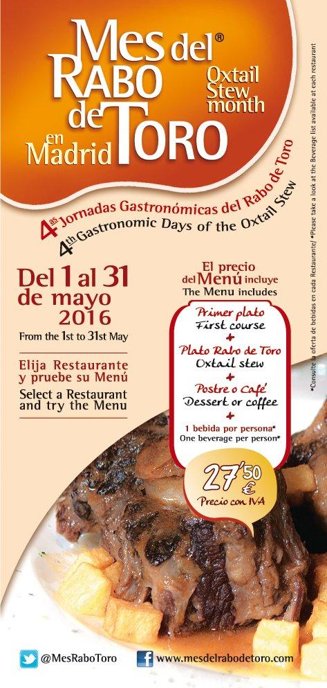 Mes dedicado al rabo de toro en Madrid 1