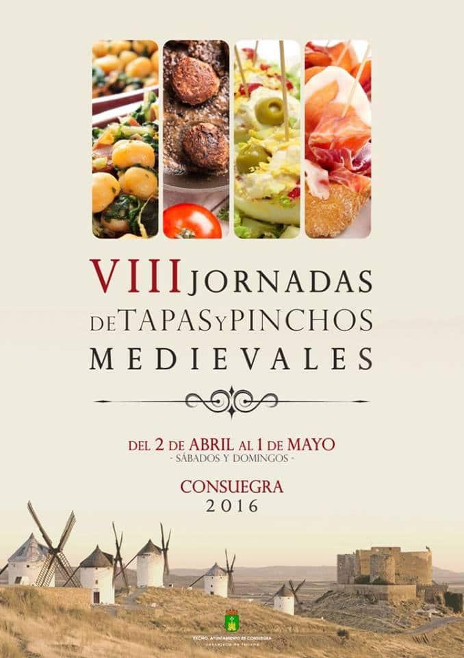 VIII Jornadas de Tapas y Pinchos Medievales Consuegra 2016 1