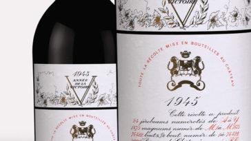 10 Botellas de Château Mouton Rothschild 1945 establecen un nuevo record en una subasta 1