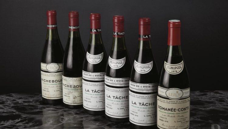 1400 botellas de Domaine de la Romanée-Conti a la venta este mes en Ginebra 1