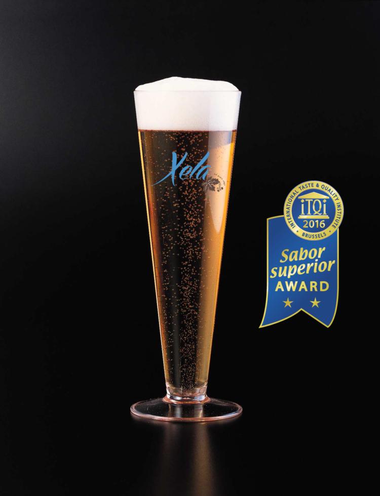 Cerveza Xela galardonada con el premio del International Taste and Quality Institute 2