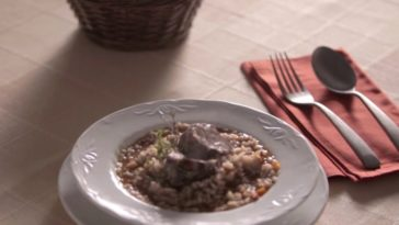 Arroz caldoso con carrilleras 1