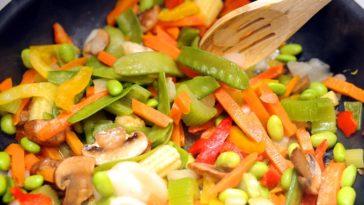 Ensalada templada de verduras 1