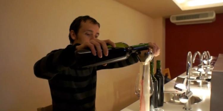Ensamblajes y embotellado de los vinos 1