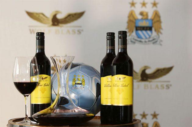 Guardiola brindará en sus triunfos con los vinos de la bodega australiana Wolf Blass 1