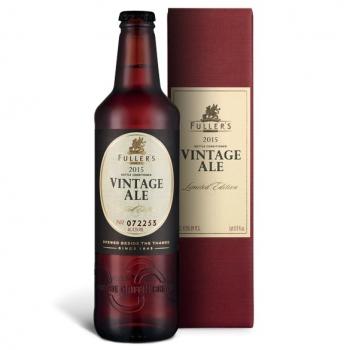 ¿Has probado la cerveza que pasa de 315 euros la botella? While Fuller's Vintage 1