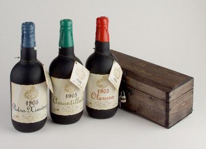 Parker da 100 puntos a otro vino español: Amontillado 1905 Solera Fundacional 1