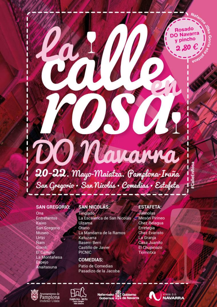 Tercera edición de La Calle En Rosa en Pamplona 1