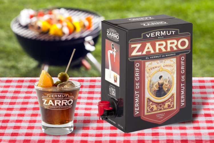 Vermut Zarro se une al Bag in Box 1