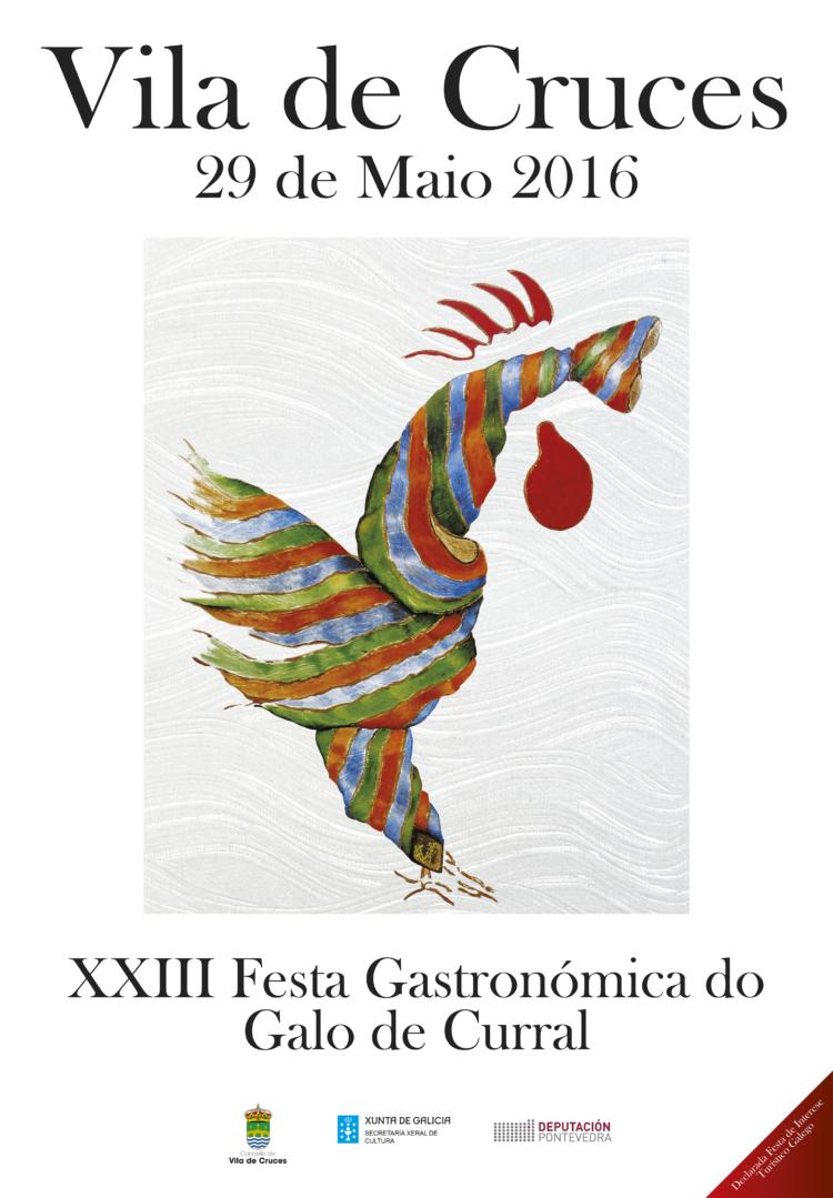 XXIII Festa Gastronómica do Galo de Curral en Vila de Cruces 1