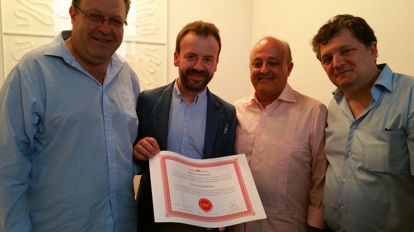 Presentación del libro Casa Marcial del chef asturiano Nacho Manzano 2