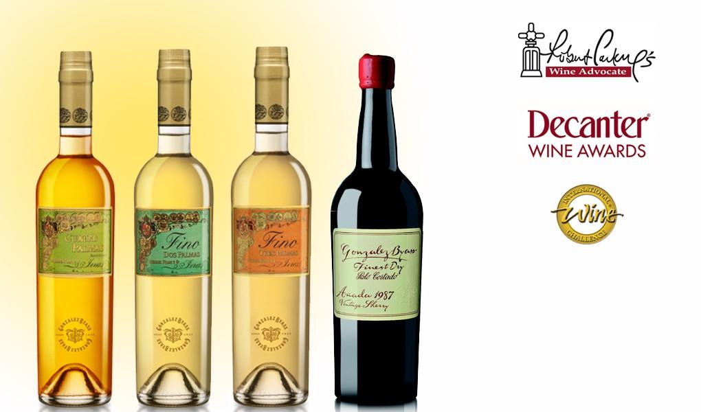 Diez vinos de la Casa de Tío Pepe cosechan premios internacionales 1