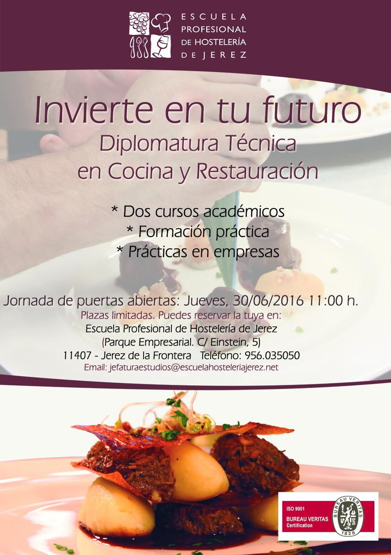 Jornada de Puertas Abiertas de la Escuela de Hostelería de Jerez 1