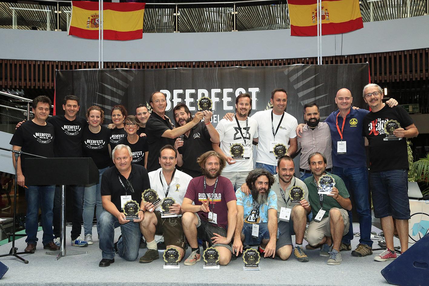 La Beerfest Costa del Sol premia a 12 cervezas artesanales de siete provincias 1