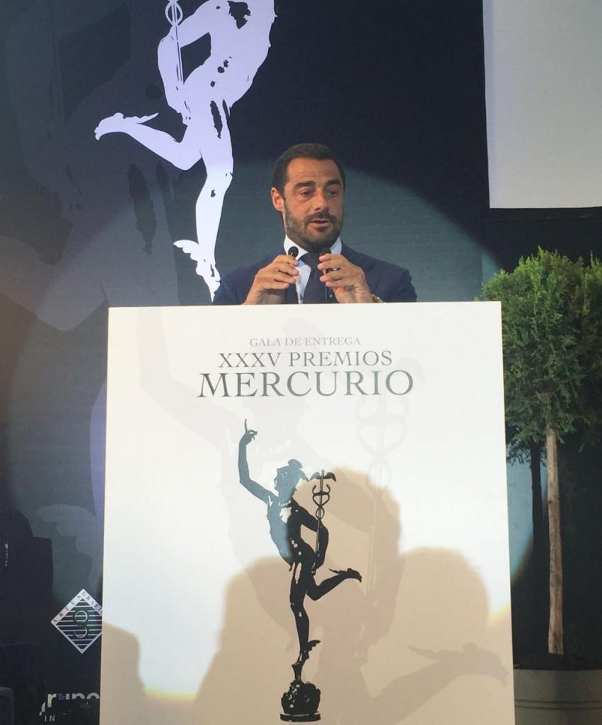 Marqués de Murrieta recibe el Premio Mercurio a la Mejor Empresa del Año 1